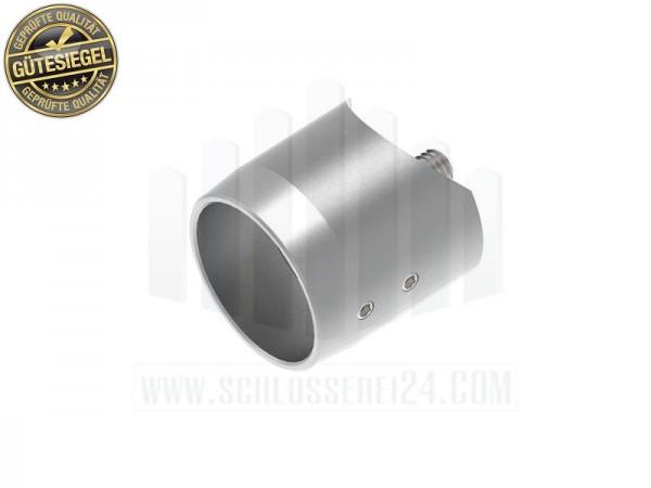 Edelstahlrohranschluss 42,4mm auf 33,7mm